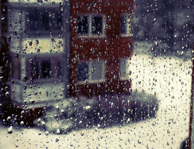 snowy rain