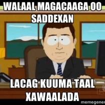 xawaalad